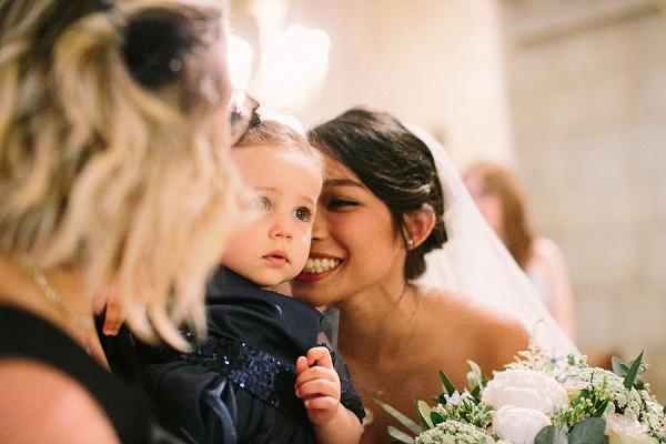 beautiful wedding at Salons France-Amérique
