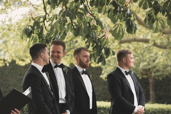blacktie outdoor wedding