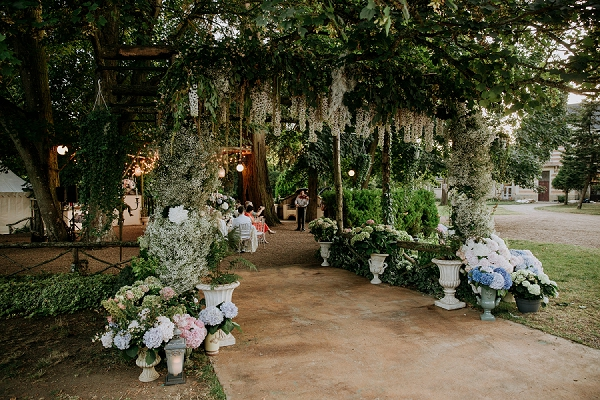 destination outdoor wedding