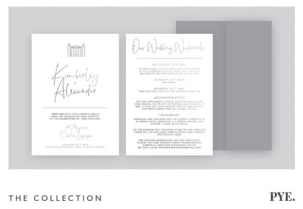 destination wedding invitations on French Wedding Style