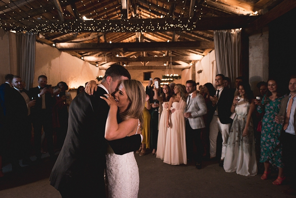 fairy light first dance