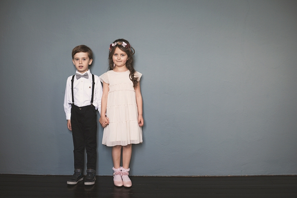 flower girl and pageboy