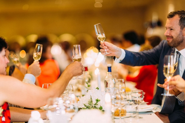 french champagne wedding toast