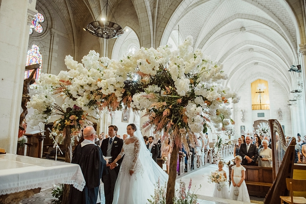 loire valley outdoor wedding