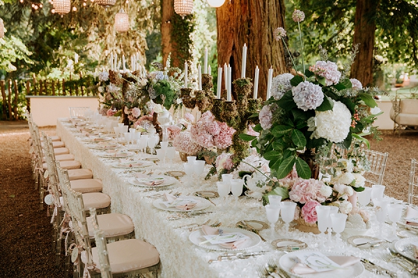 luxury outdoor wedding