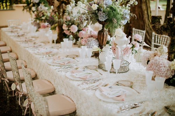 luxury wedding styling