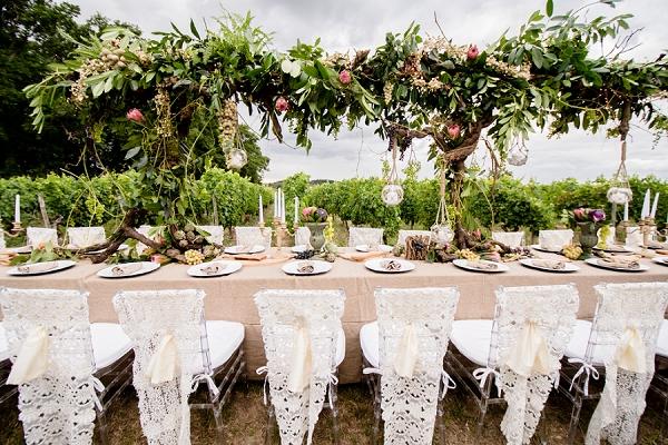 outdoor wedding furniture