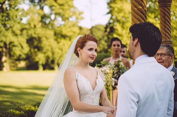 outdoor wedding nuptials