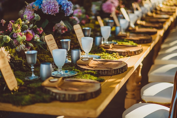 outdoor wedding styling