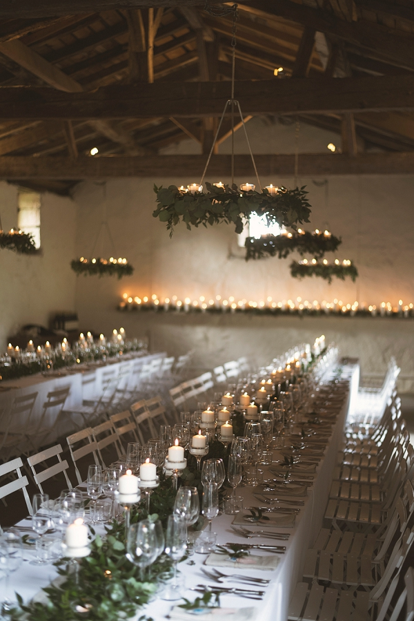 rustic barn wedding breakfast