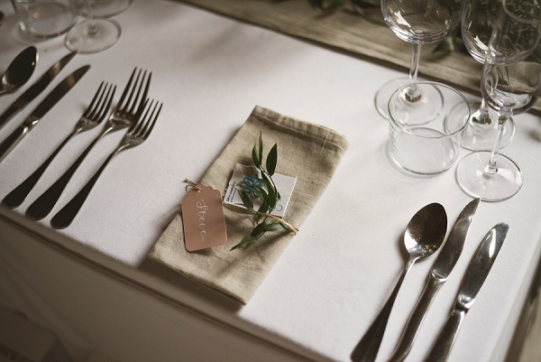 rustic wedding breakfast styling