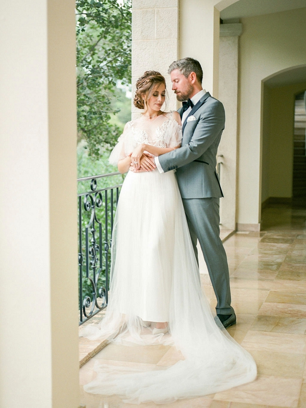 Chateau Saint Martin & Spa bride and groom