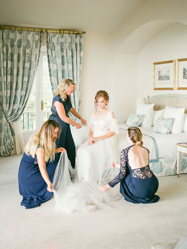 Chateau Saint Martin & Spa bride