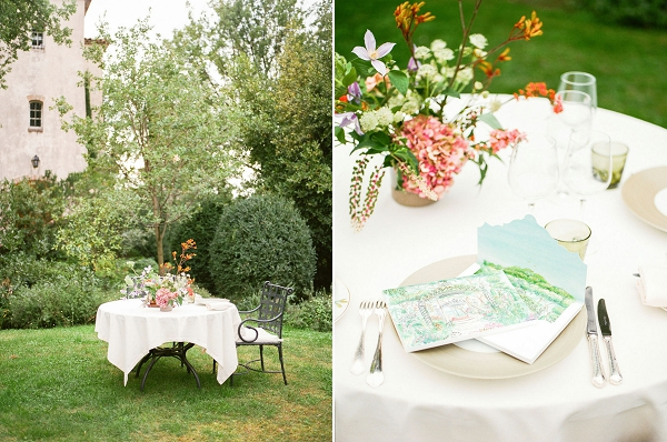 Chateau Saint Martin & Spa outdoor wedding
