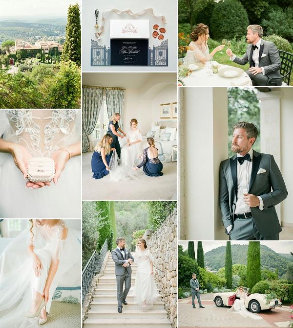 Fairytale wedding at Chateau Saint Martin & Spa Snapshot