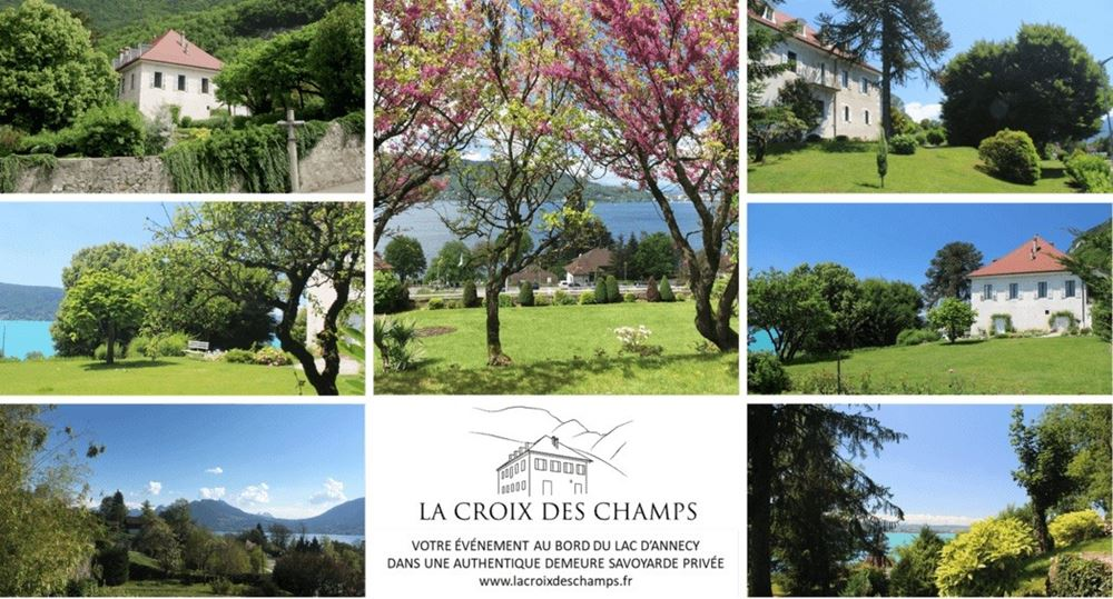La Croix des Champs Wedding Venue in the Rhone Alpes