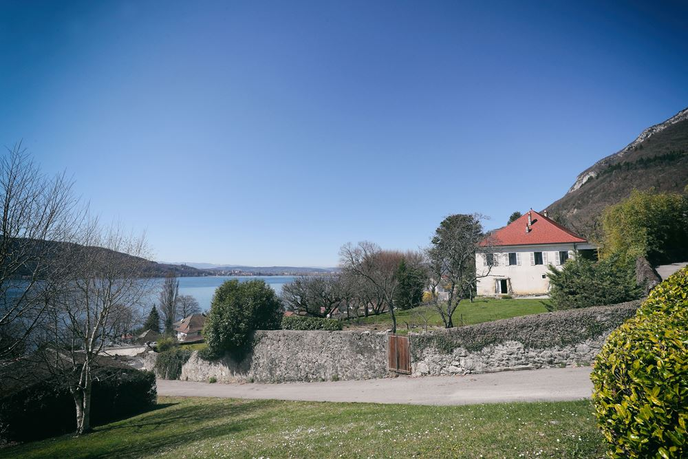 La Croix des Champs Wedding Venue on the banks of Lake Annecy