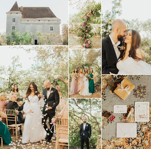 Russian Wedding at Chateau de Goudourville Snapshot