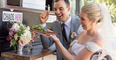 crepe wedding food
