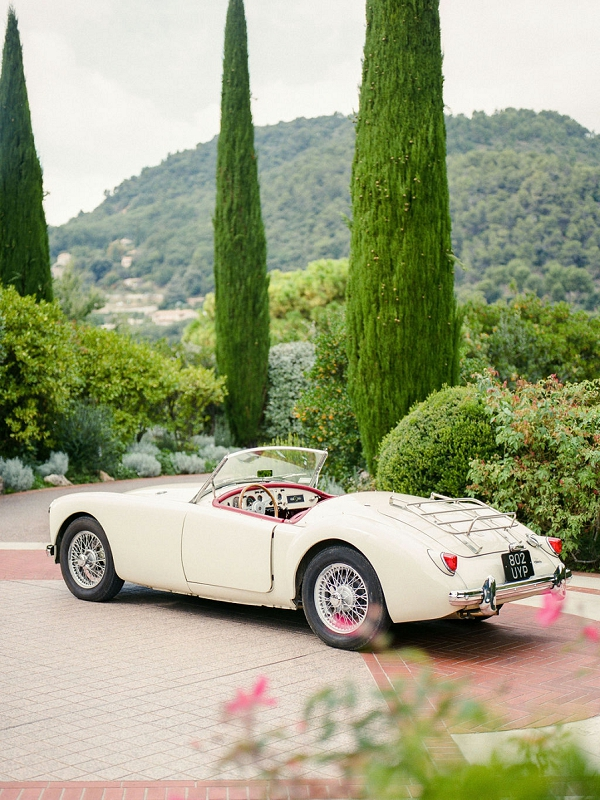 wedding car french riviera