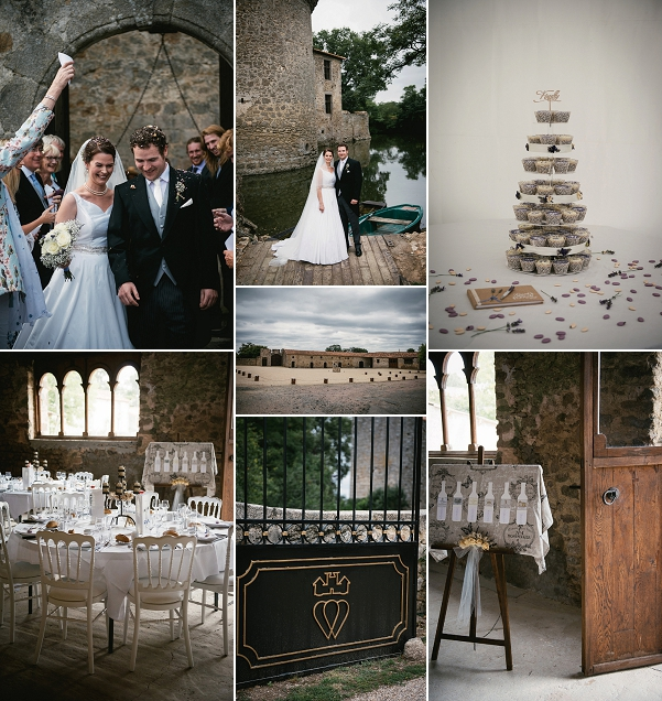At home wedding in Loire Valley Snapshot
