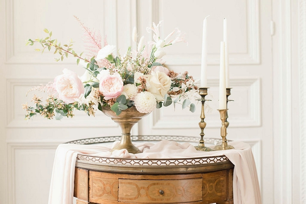 Burgundy wedding florist