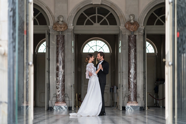 Chateau Vaux le Vicomte first dance