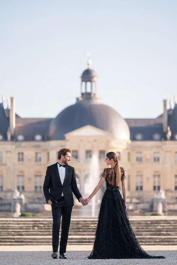 Chateau Vaux le Vicomte wedding inspiration