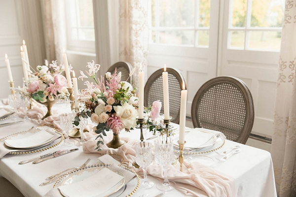 Chateau de Varennes wedding breakfast