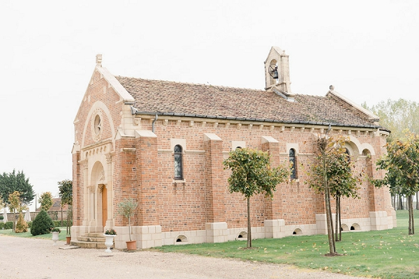 Chateau de Varennes wedding church