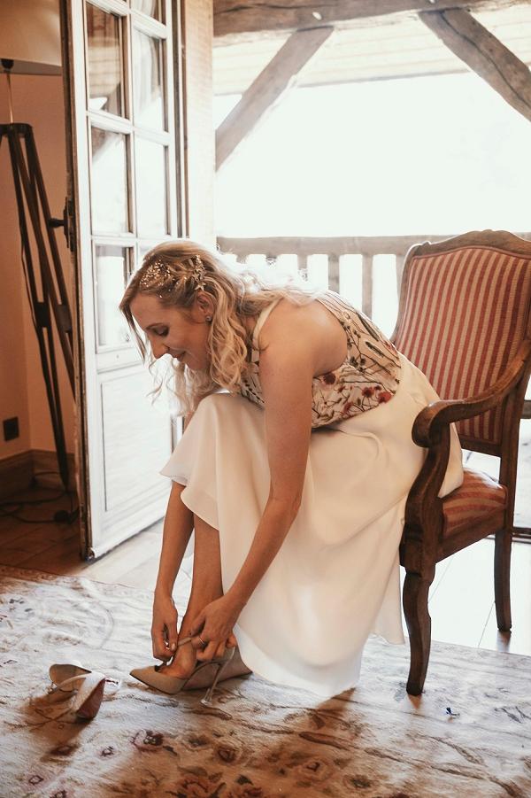 Christian Louboutin bride