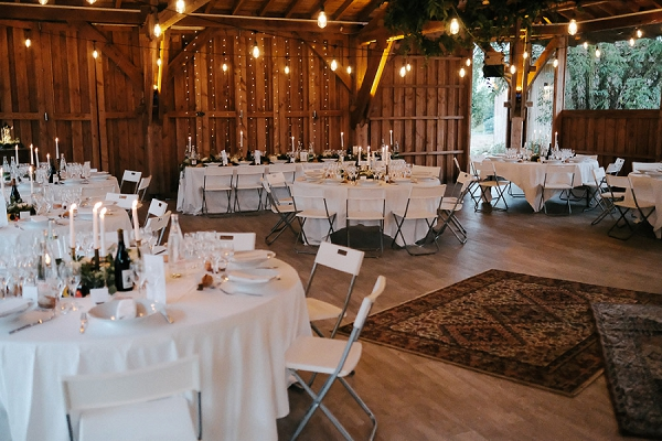 Domaine du Beyssac wedding breakfast