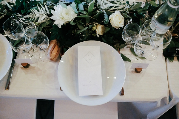 Domaine du Beyssac wedding styling