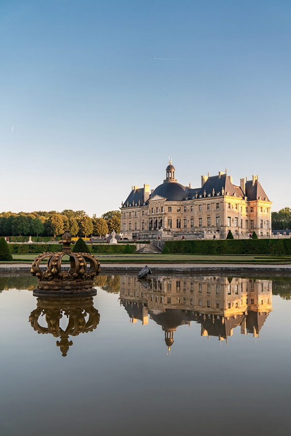 Fairytale weddings at Chateau Vaux le Vicomte