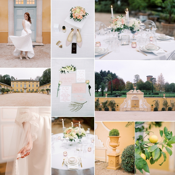 Fall wedding inspiration at Château de Chavagneux Snapshot