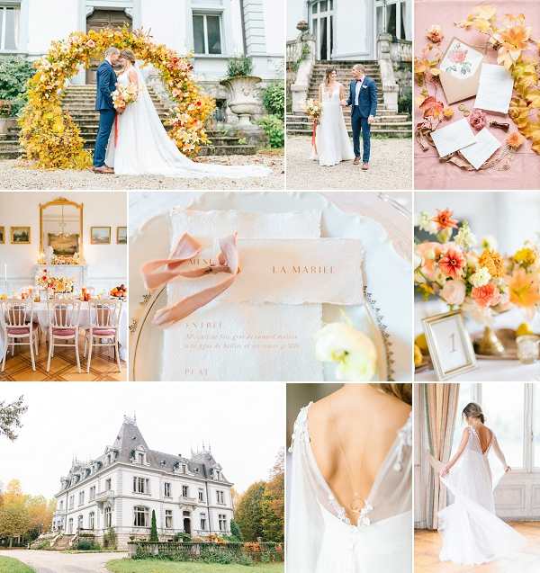 Intimate Chic wedding in Annecy France Snapshot