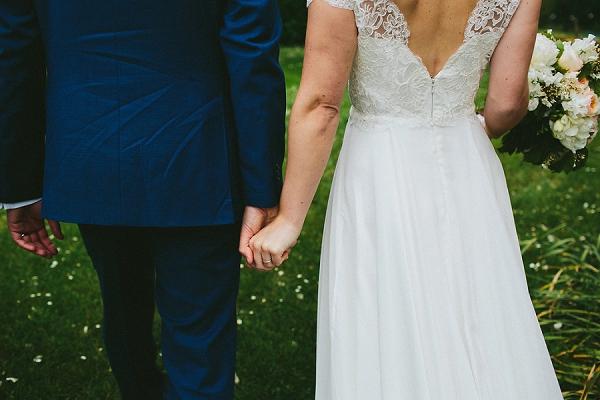 Lace Charlie Brear wedding dress