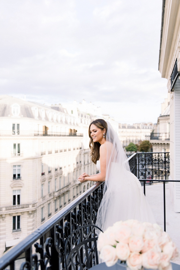 Parisian inspired Elopement at Palais Royal
