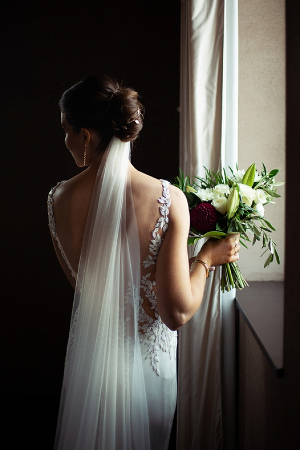 Pronovias backless wedding dress
