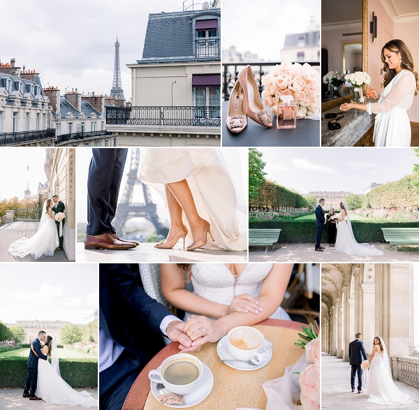 Spontaneous Elopement at Palais Royal Snapshot