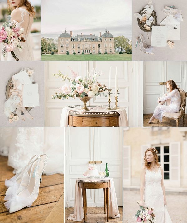 Stylish Chateau de Varennes wedding Snapshot
