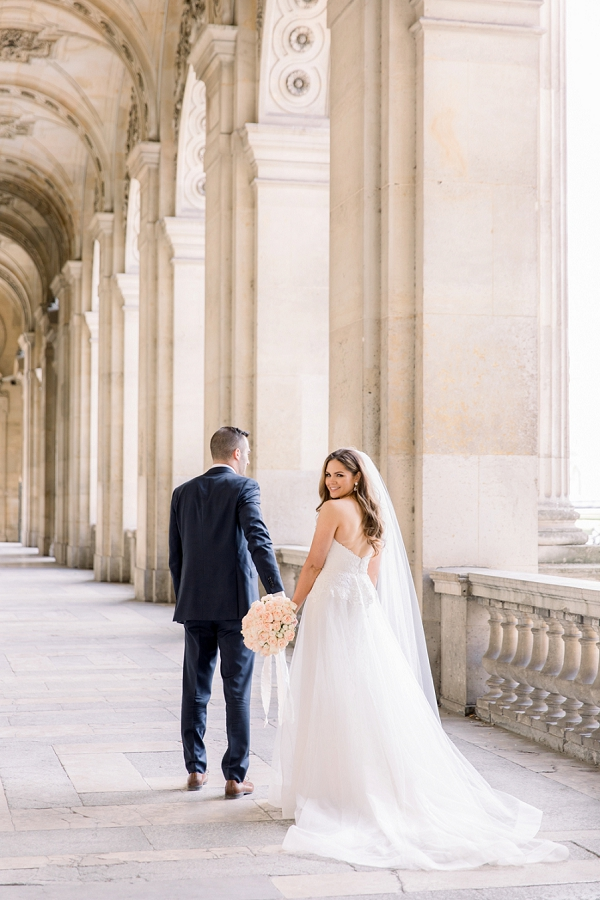 Sweet Elopement at Palais Royal