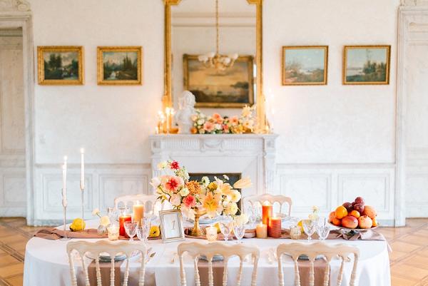 autumnal wedding in Annecy