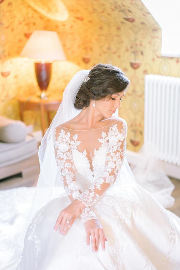elegant bridal portrait