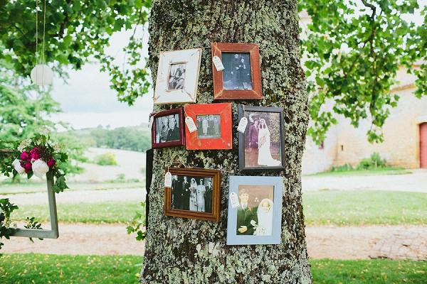 family tree wedding idea
