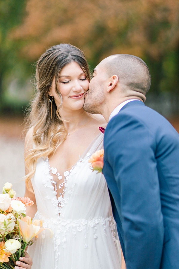 french wedding dress