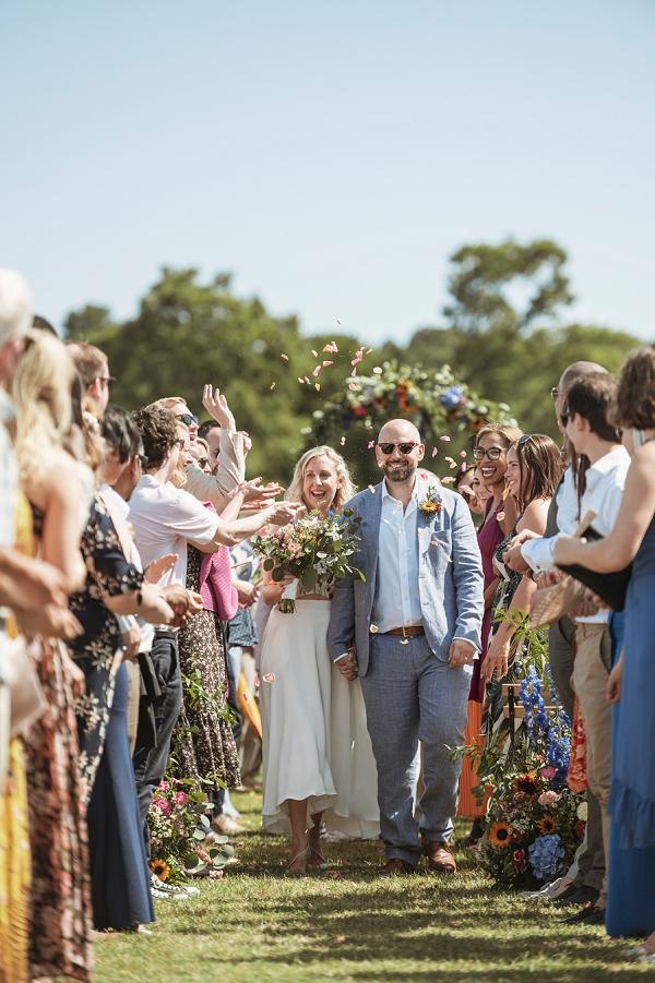 fresh wedding confetti