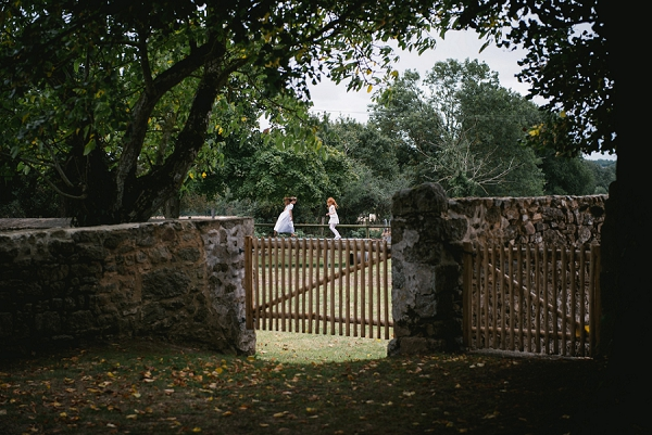 garden wedding in Loire Valley