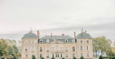 historic Chateau de Varennes wedding