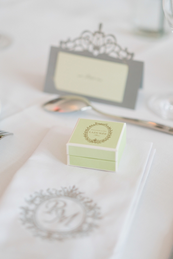 laduree wedding details